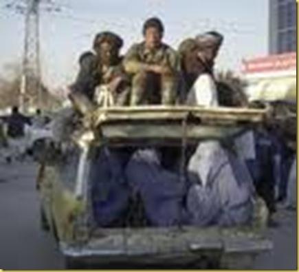 transport en burqa
